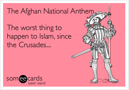 The Afghan National Anthem 