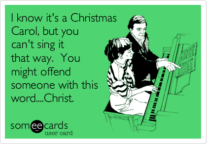 I know it's a Christmas