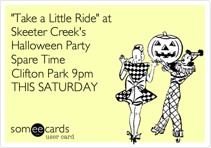 """Take a Little Ride"" at 