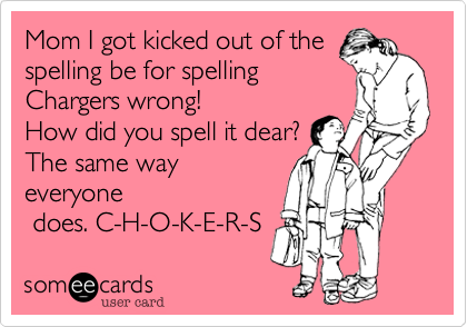 Mom I got kicked out of the