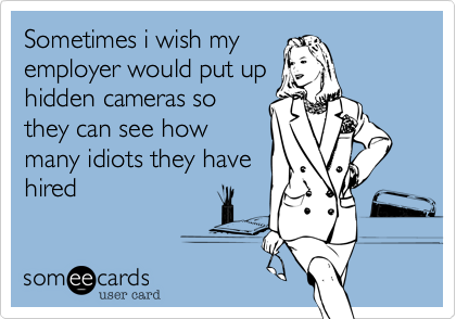 Sometimes i wish my