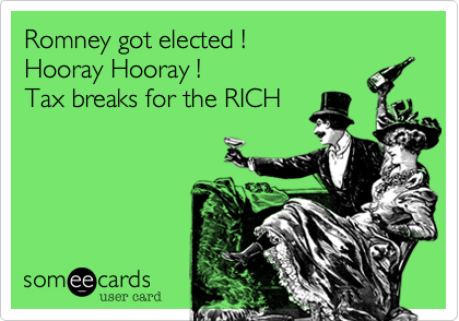 Romney got elected !