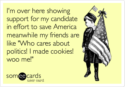 I'm over here showing