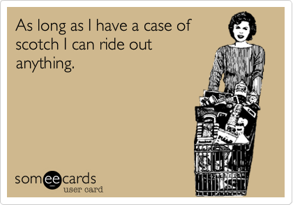 As long as I have a case of