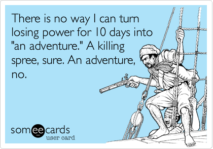 There is no way I can turn
