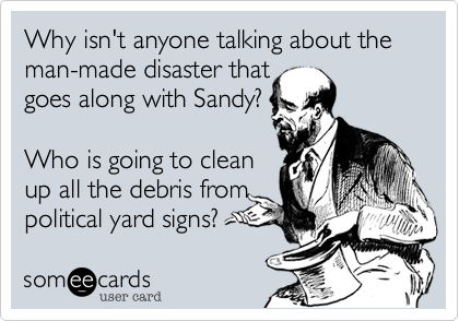 Why isn't anyone talking about the man-made disaster that
