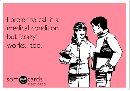 I prefer to call it a 