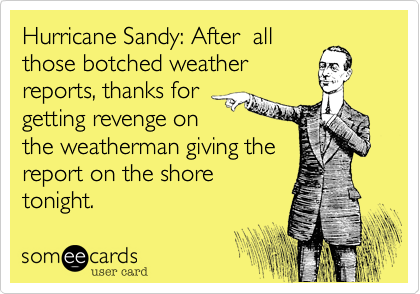 Hurricane Sandy: After  all
