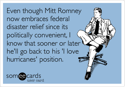 Even though Mitt Romney