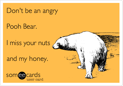 Don't be an angry