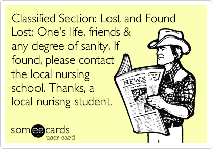 Classified Section: Lost and Found