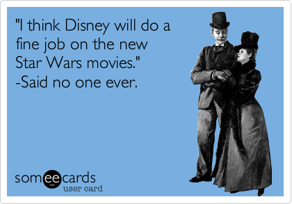 """I think Disney will do a 