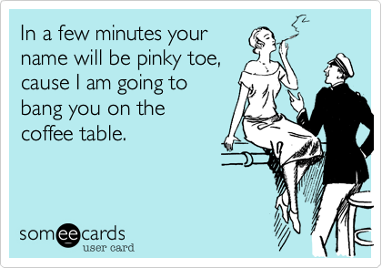 In a few minutes your
