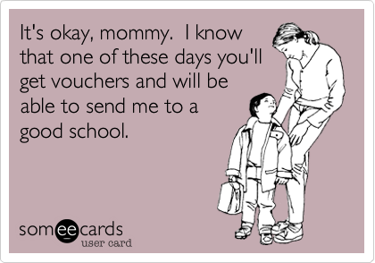 It's okay, mommy.  I know