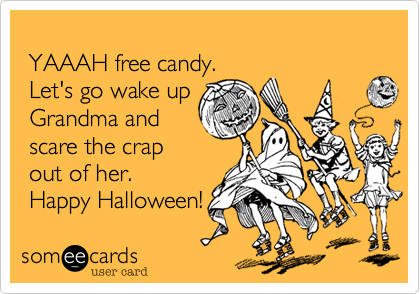 YAAAH free candy. 