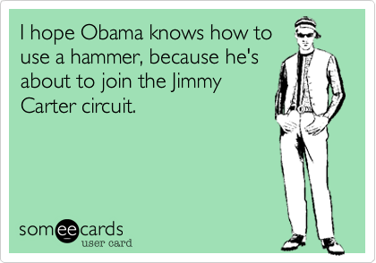 I hope Obama knows how to