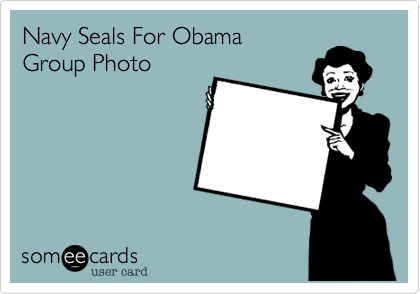 Navy Seals For ObamaGroup Photo