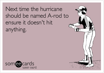 Next time the hurricane