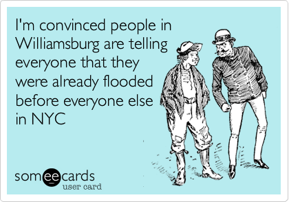 I'm convinced people in