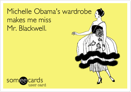 Michelle Obama's wardrobe