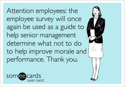 Attention employees: the