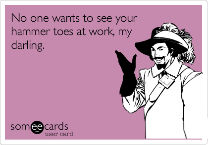 No one wants to see your