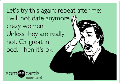 Let's try this again; repeat after me: