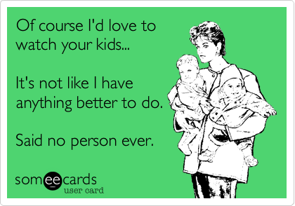 Of course I'd love to