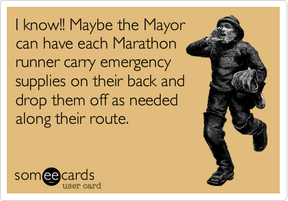 I know!! Maybe the Mayor 