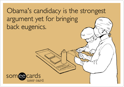 Obama's candidacy is the strongest
