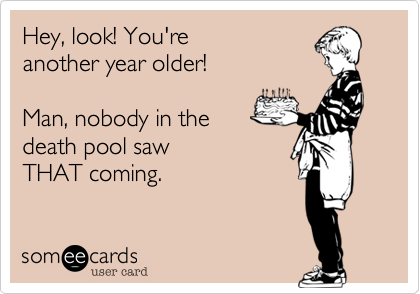 Hey, look! You're