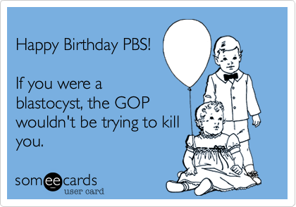 Happy Birthday PBS!