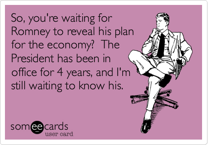 So, you're waiting for