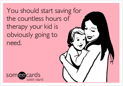 You should start saving for