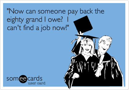"""Now can someone pay back the