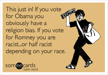 This just in! If you vote