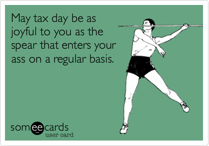 May tax day be as