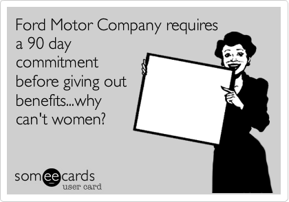 Ford Motor Company requires