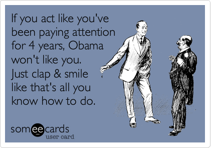 If you act like you've