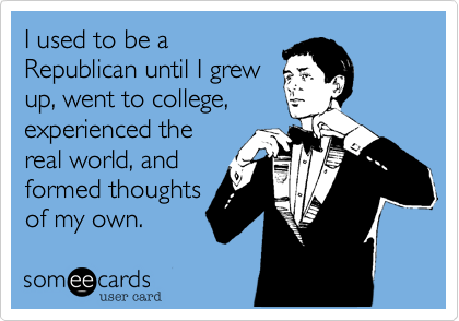 I used to be a