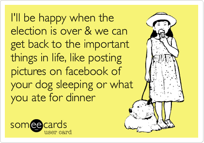 I'll be happy when the