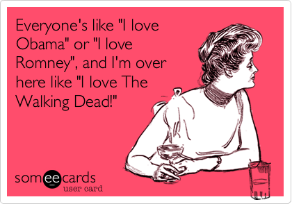 "Everyone's like ""I love