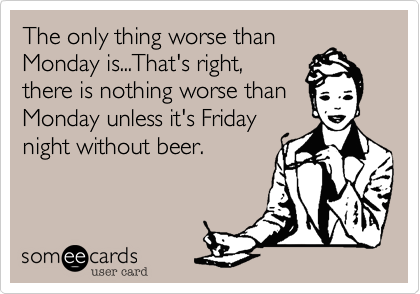 The only thing worse than