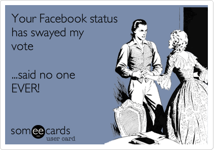 Your Facebook status