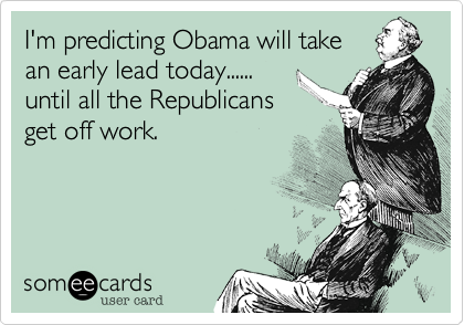 I'm predicting Obama will take