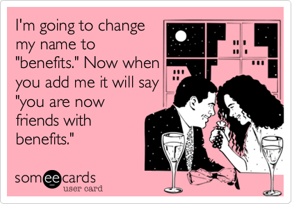 I'm going to change