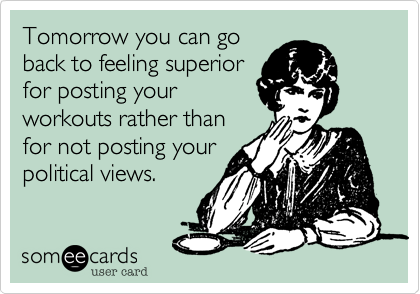 Tomorrow you can go