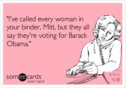 """I've called every woman in