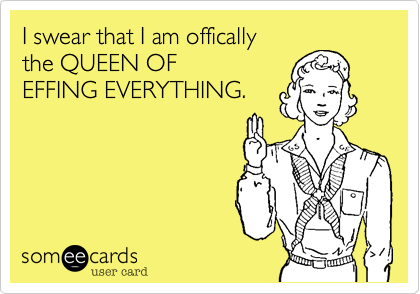 I swear that I am offically