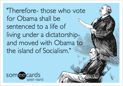 """Therefore- those who vote